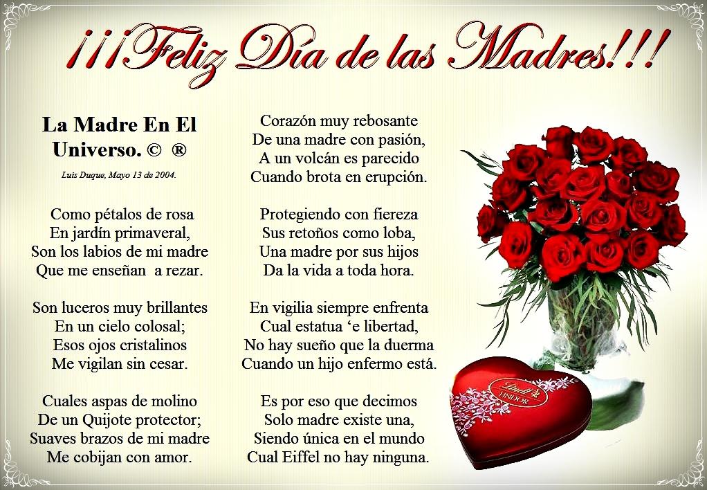 poemas de madre